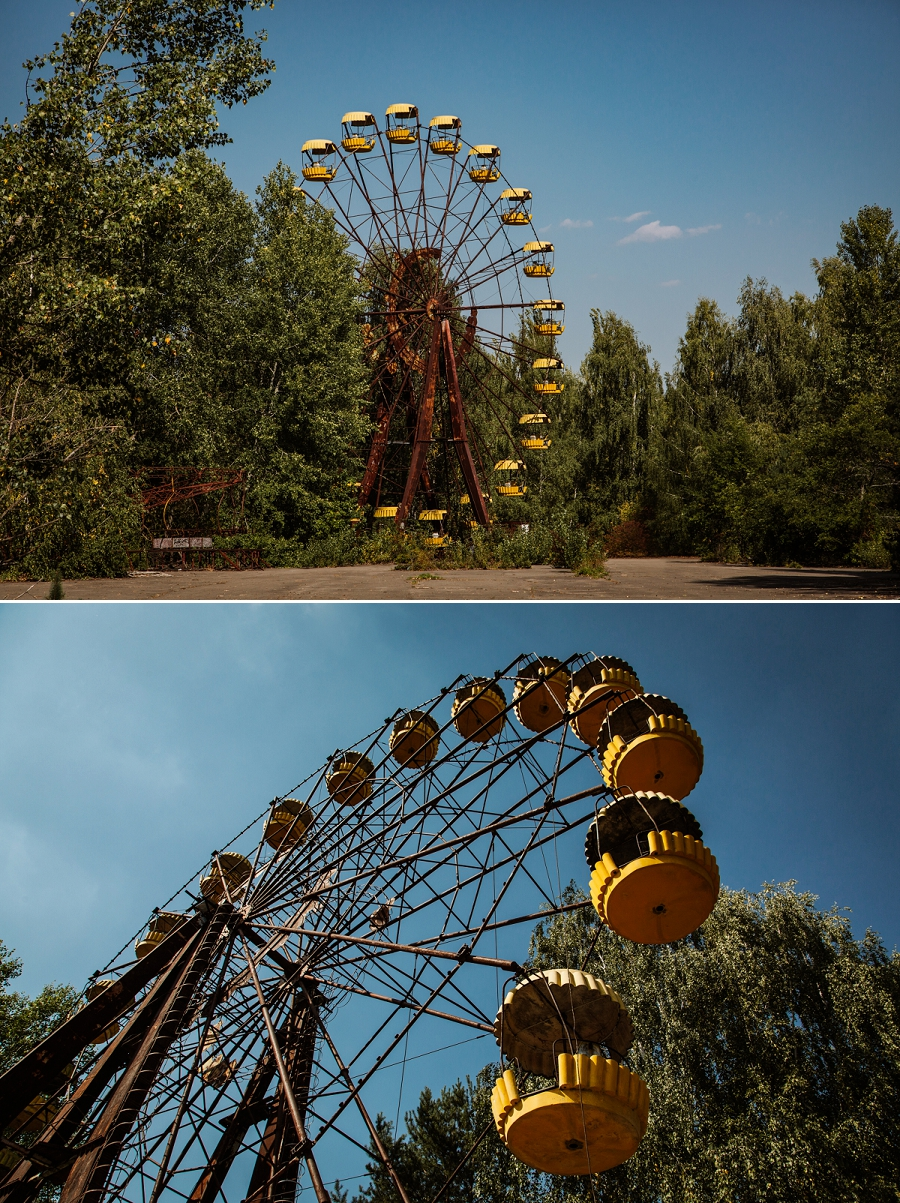 ghost ferris wheel of pripyat