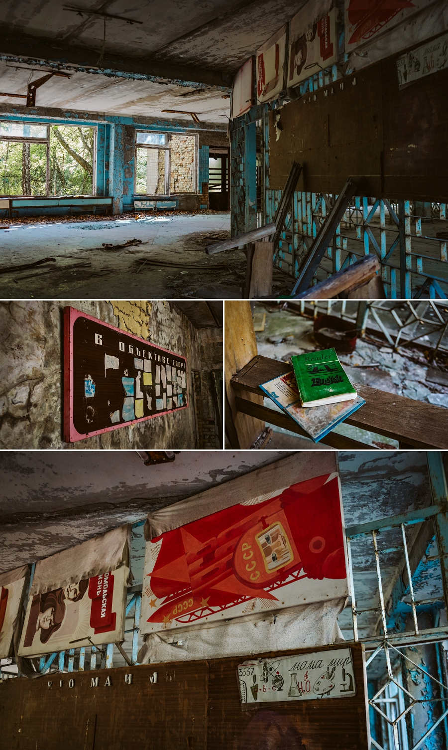 high school no 2 in pripyat, ukraine