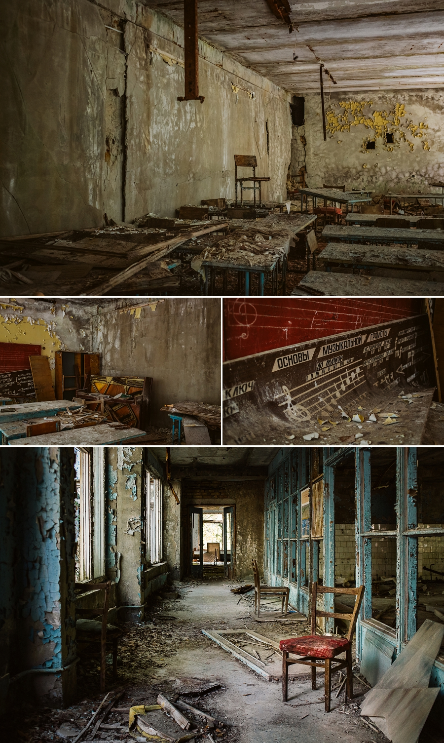 abandoned high school near chernobyl