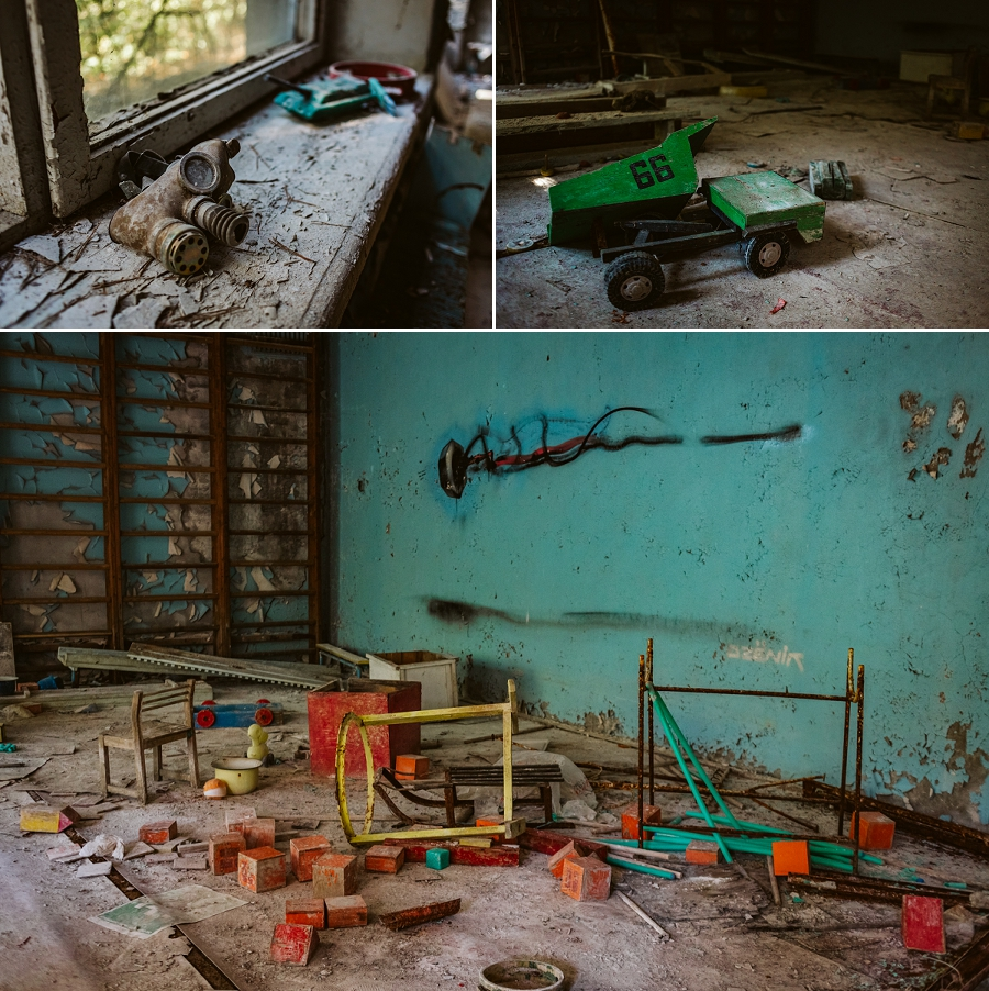 chernobyl abandoned nursery school