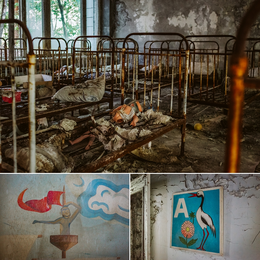 abandoned kindergarten in pripyat