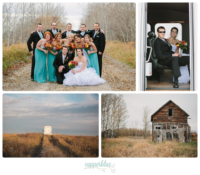 Fall wedding Watson Saskatchewan