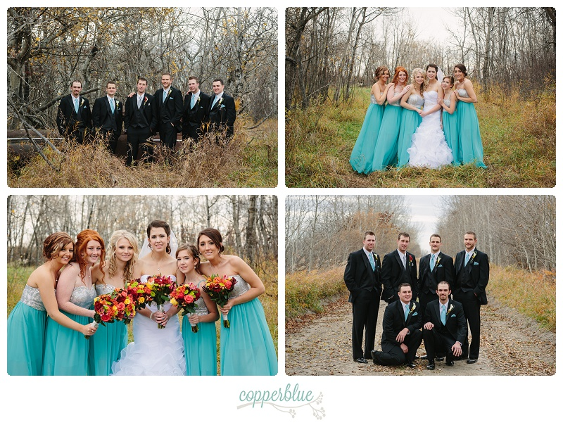 October wedding Saskatchewan