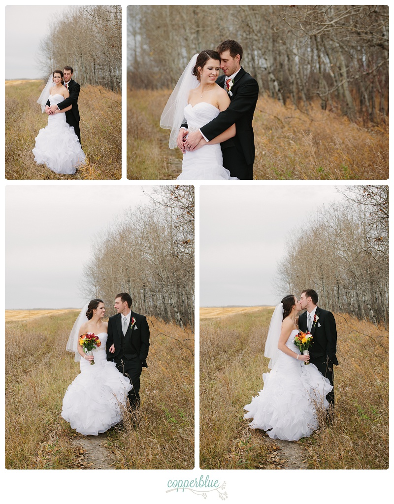 Fall wedding Saskatchewan