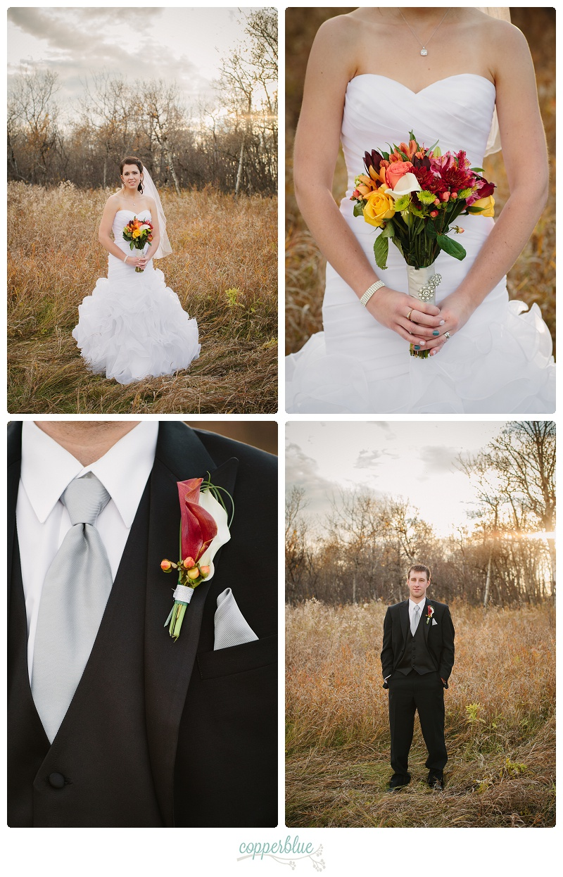 Autumn farm wedding