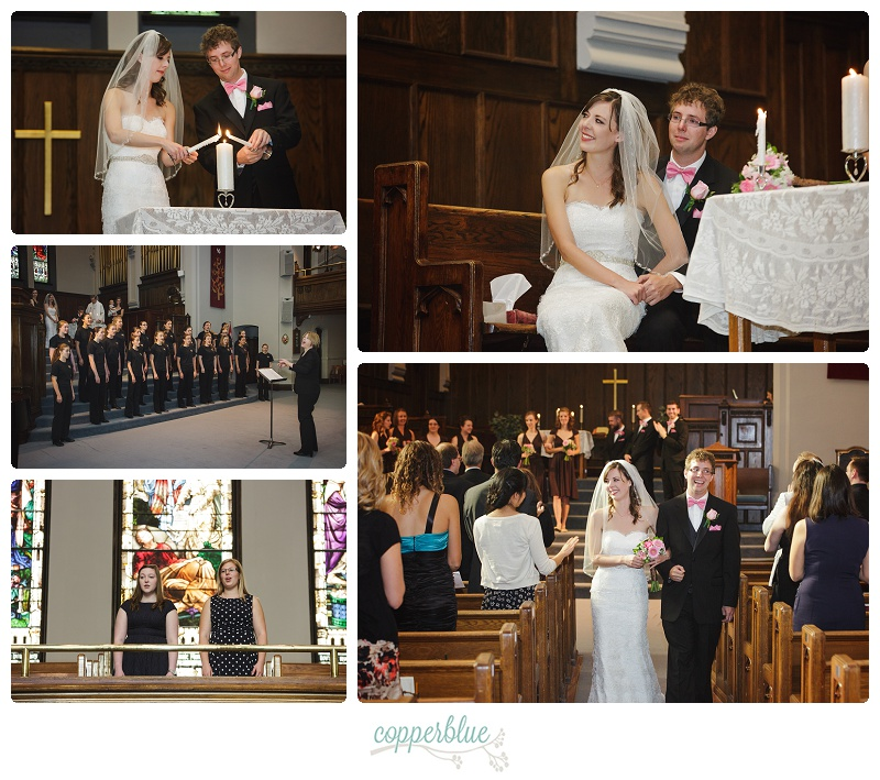 Knox United Saskatoon wedding