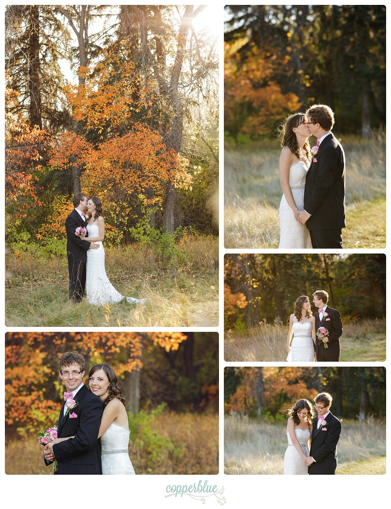 Fall wedding Saskatoon