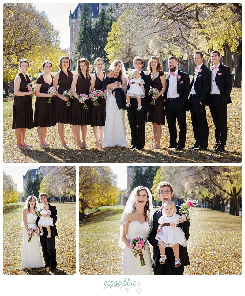 Bessborough wedding party