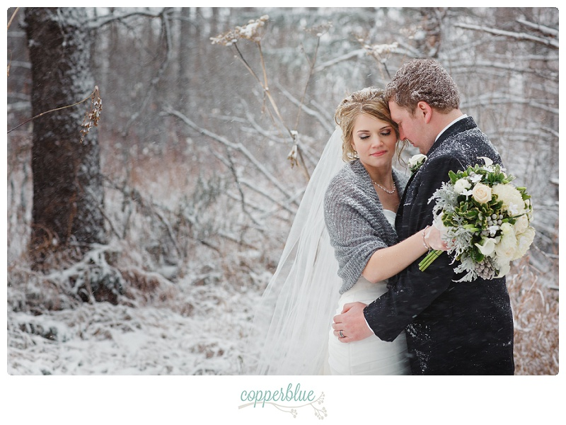 Saskatchewan winter wedding blizzard