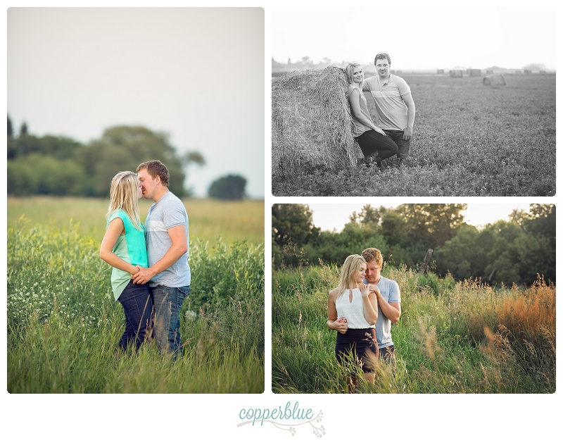 Farm engagement photos