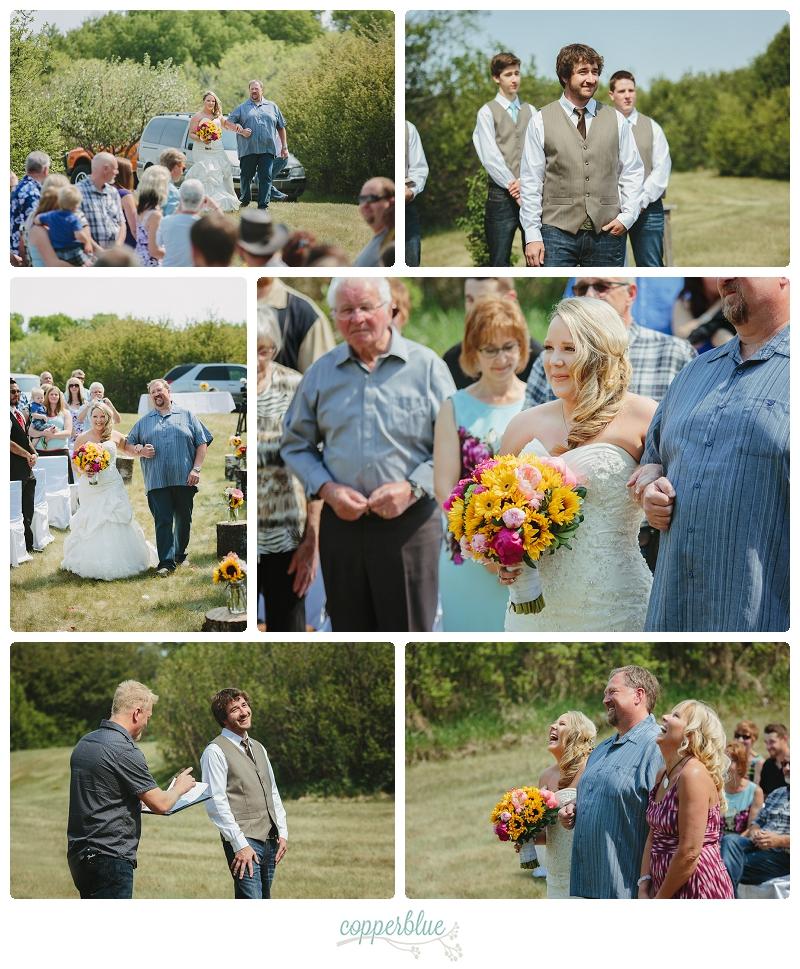 Saskatoon country wedding