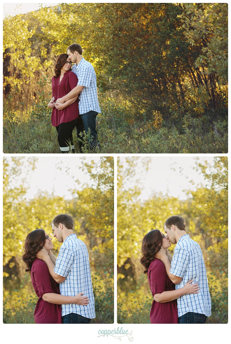 Saskatoon autumn engagement photos
