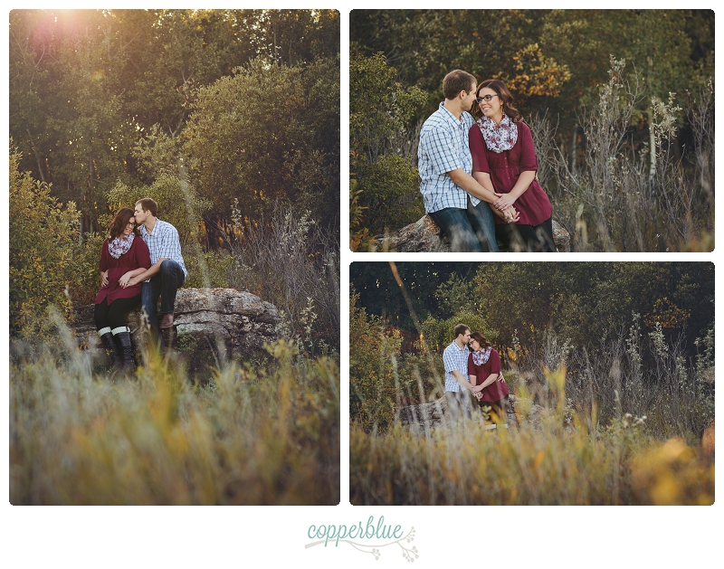 Saskatoon fall engagement photos