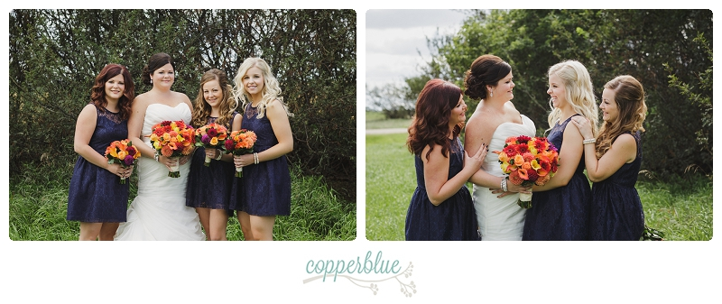 Outlook wedding bridesmaids