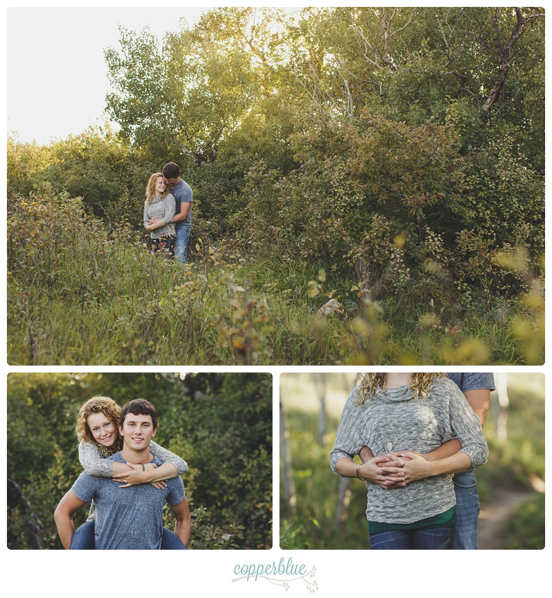 YXE engagement photography