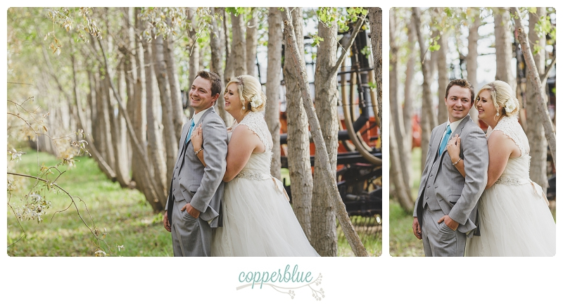Rural Saskatchewan wedding