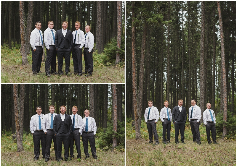 groomsmen candle lake