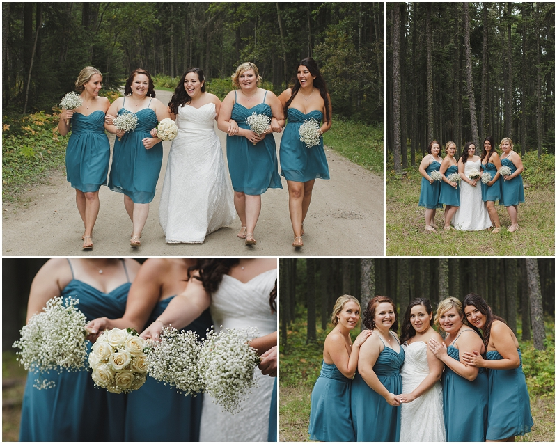 candle lake bridesmaids