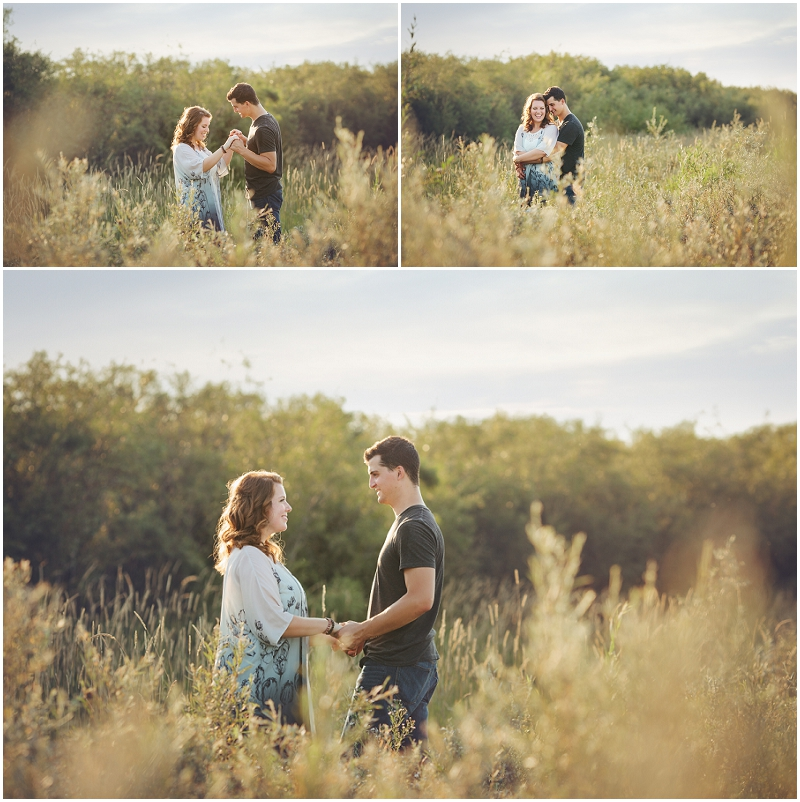saskatoon beach engagement photos