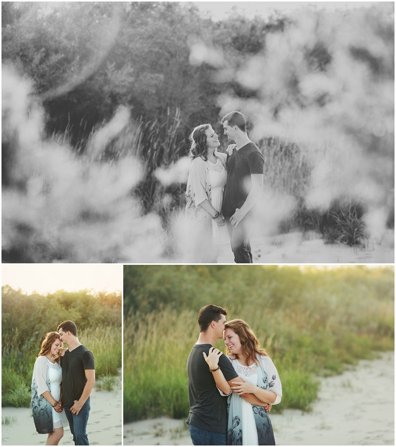 beach engagement session saskatoon