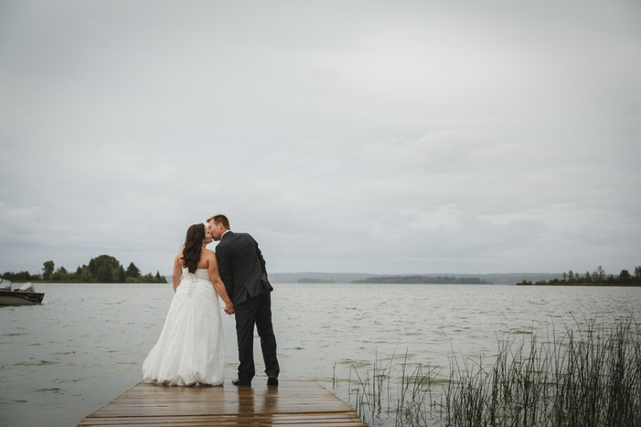 candle lake wedding