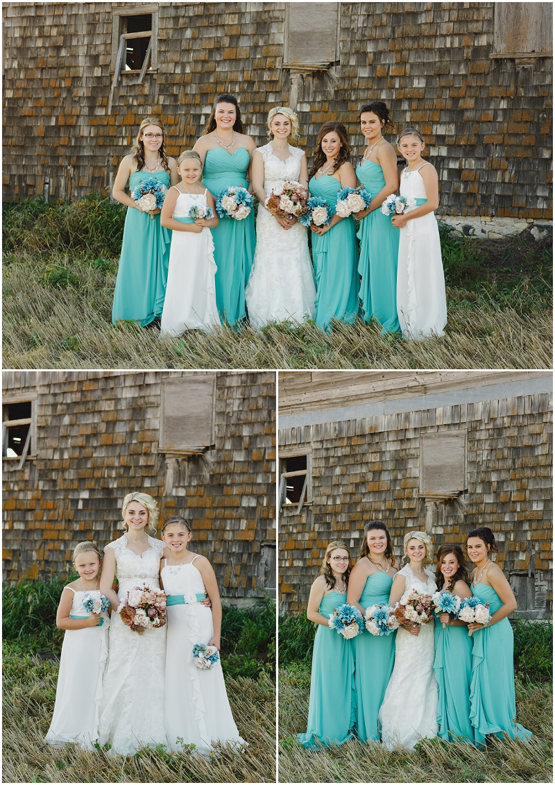 teal bridesmaids dresses