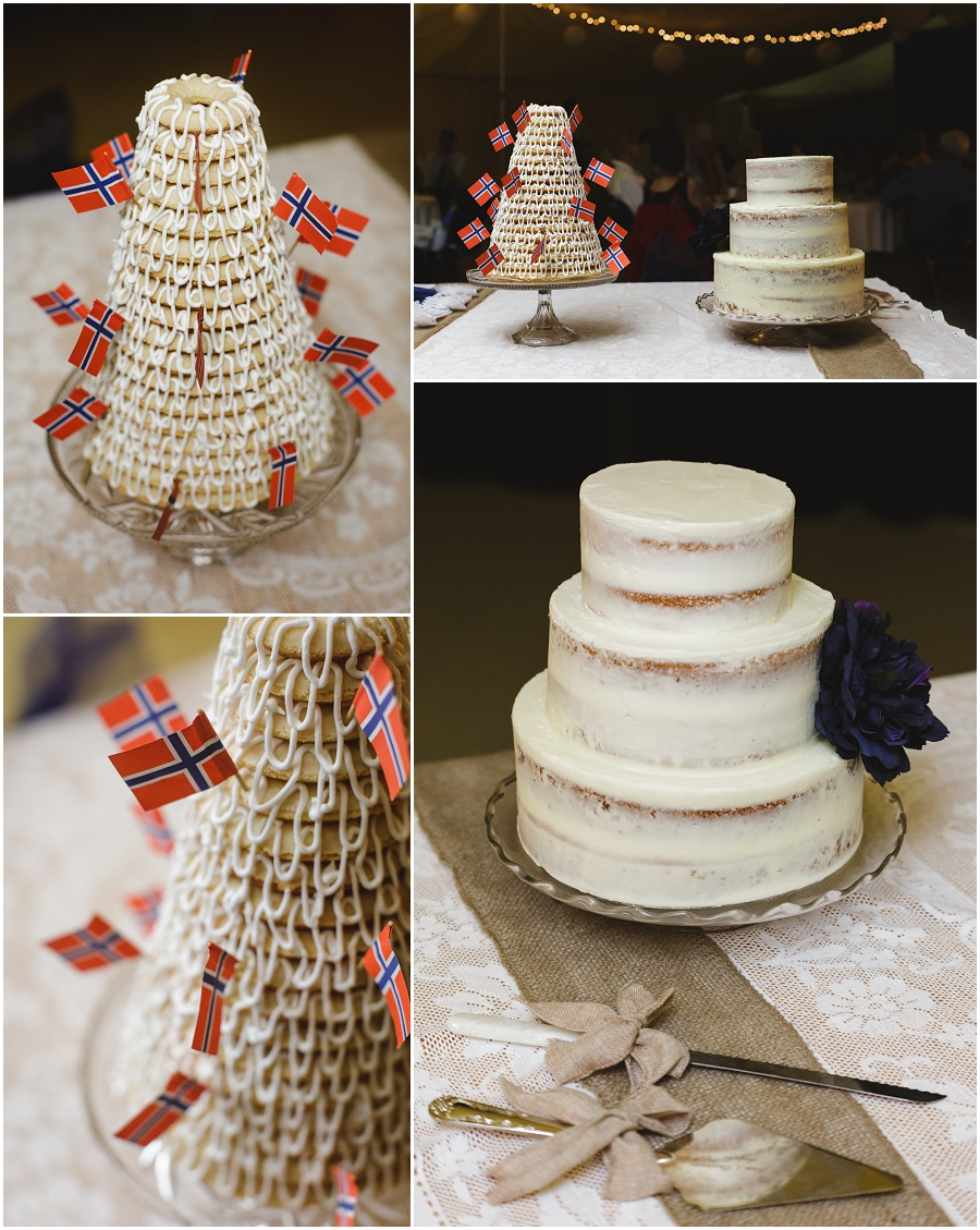 kransekake wedding cake