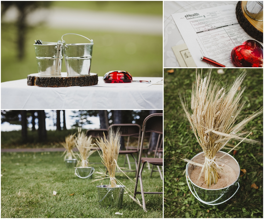 saskatchewan outdoor wedding