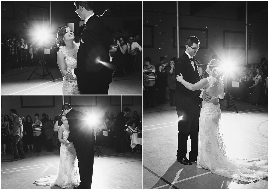 first dance at wakaw wedding
