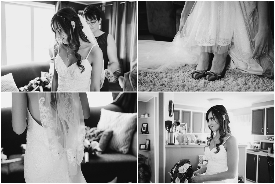 prince albert wedding bridal preparation