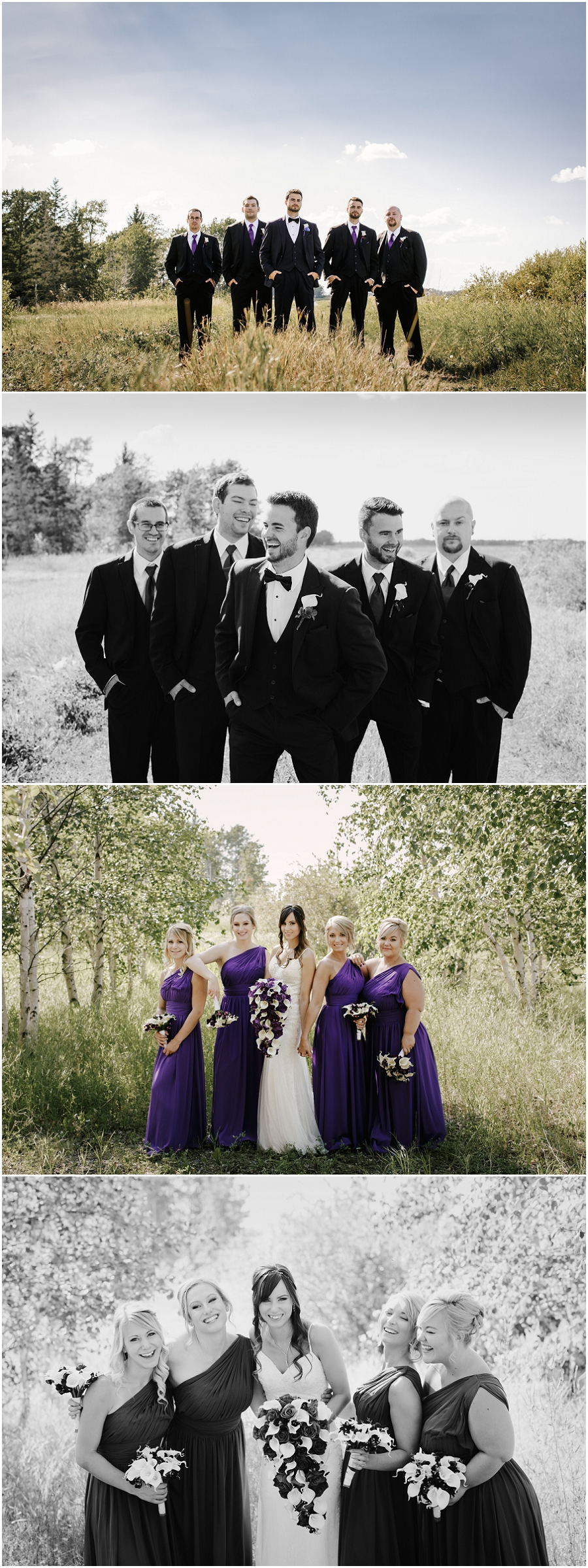 prince albert wedding bridesmaids groomsmen