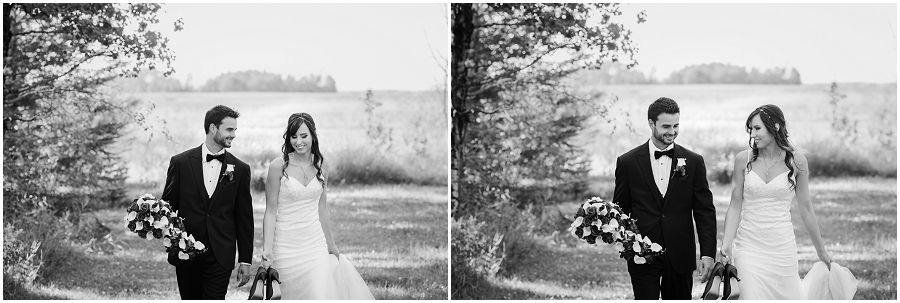 prince albert area rural wedding