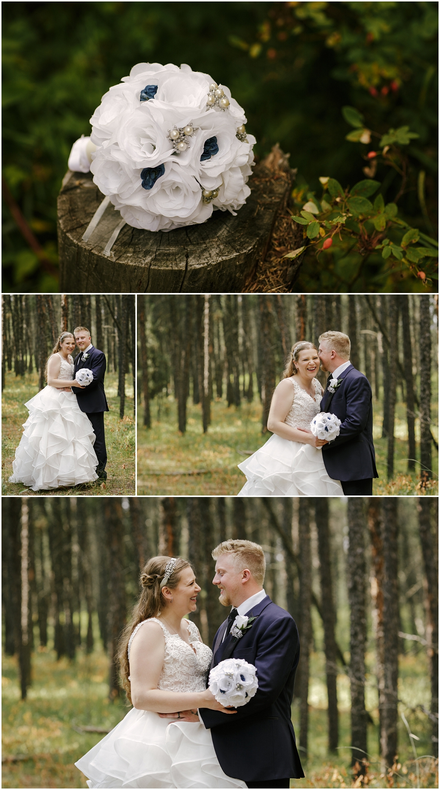 forest wedding saskatchewan