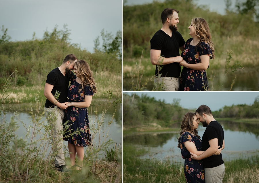 yxe photographer engagement
