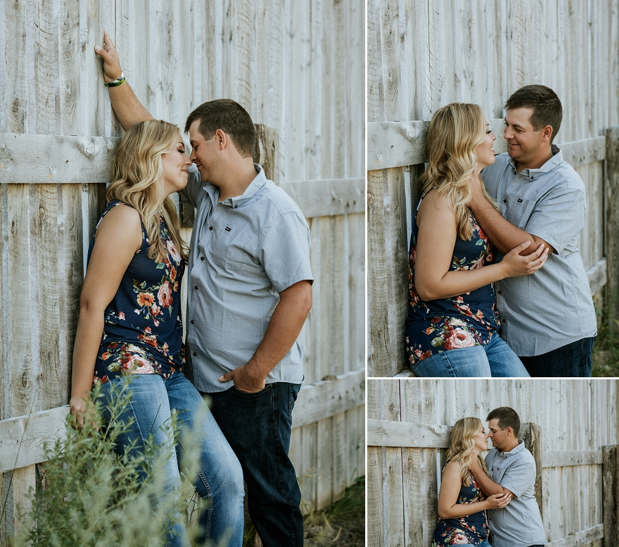 saskatchewan farm engagement photos