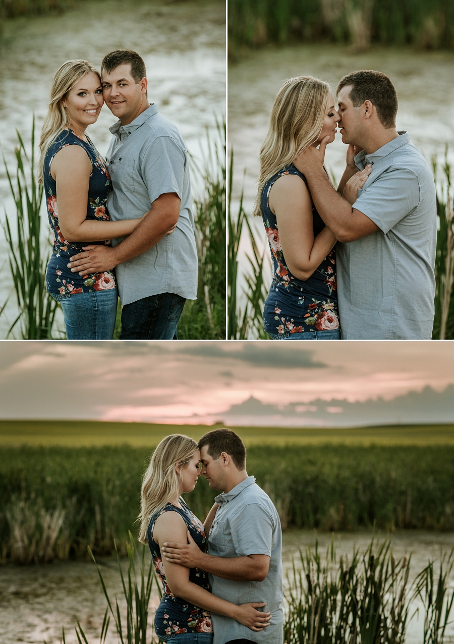 rural saskatchewan engagement photography