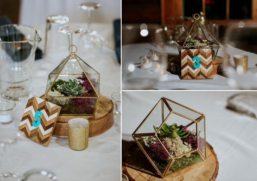 lake wedding decor