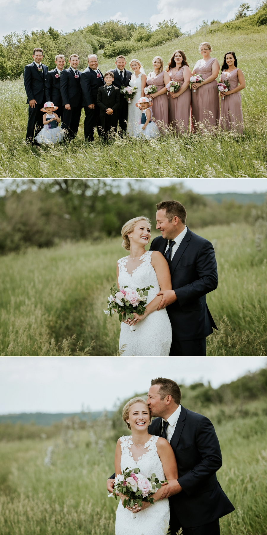 saskatchewan lake wedding
