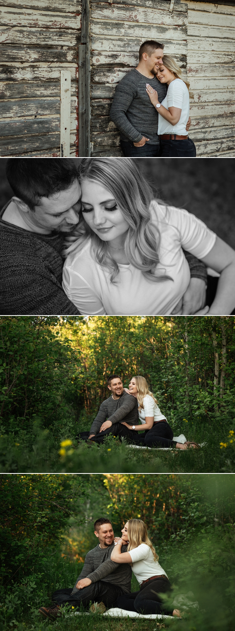 rural saskatchewan engagement pictures