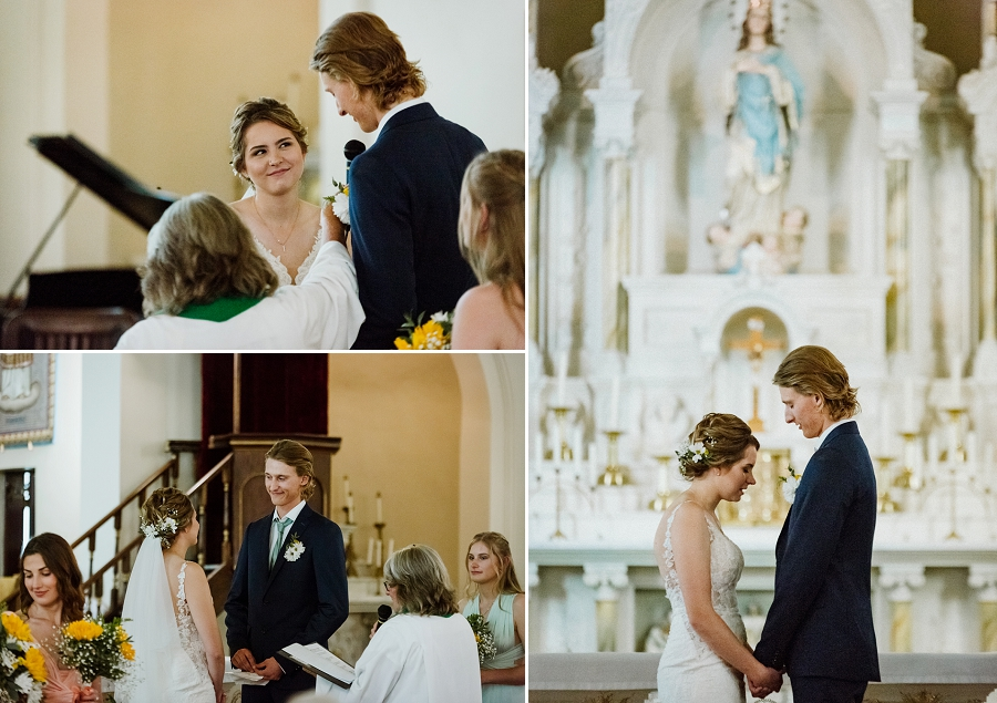marysburg assumption church wedding