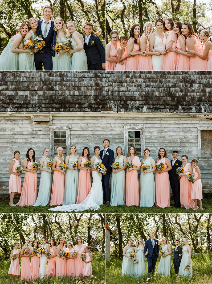 bridesmaids dresses in saskatoon