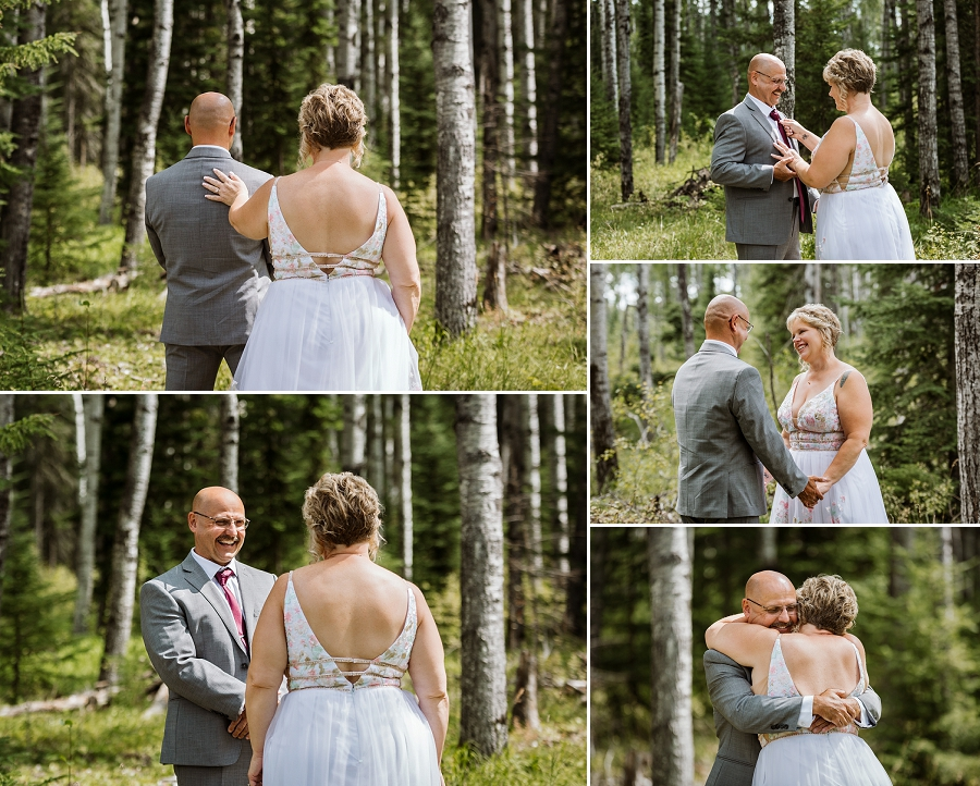 elk ridge wedding waskesiu