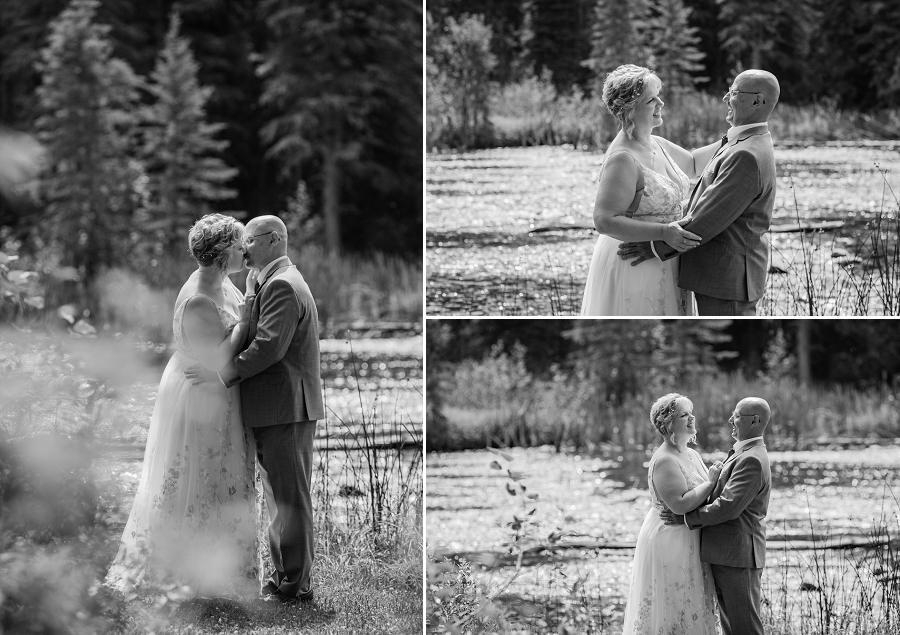 wedding in prince albert national park
