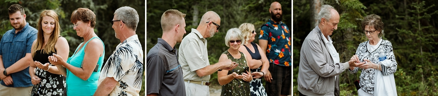 beach wedding in saskatchewan