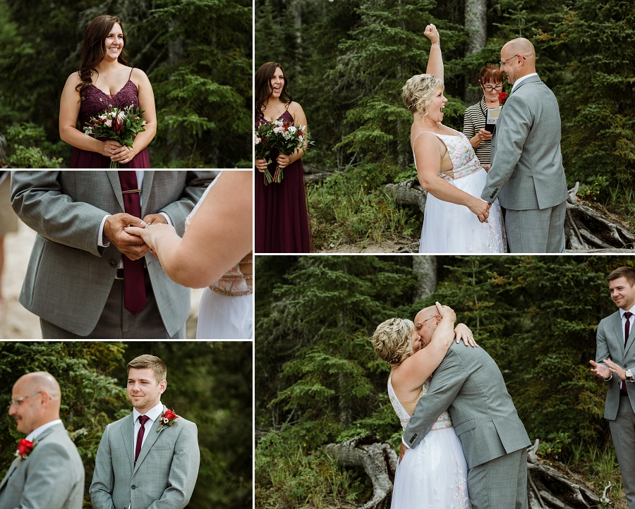 intimate wedding in saskatchewan