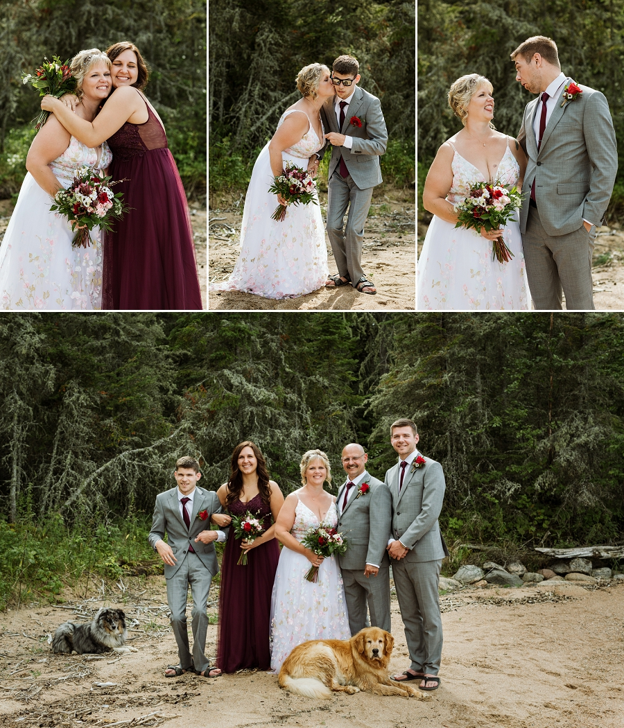 waskesiu wedding photography