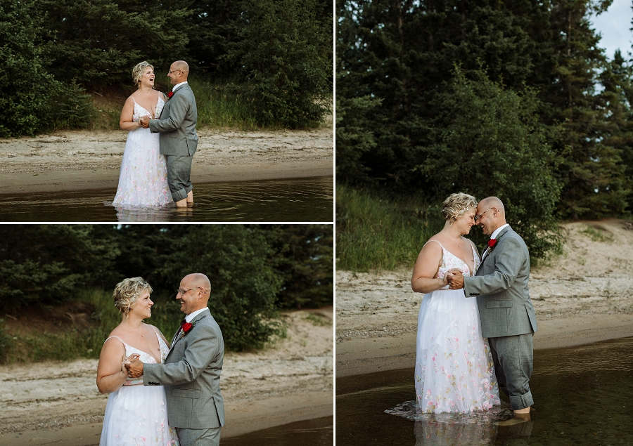 eloping in prince albert national park