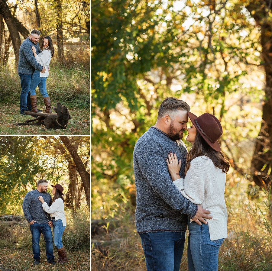 prince albert engagement photographer