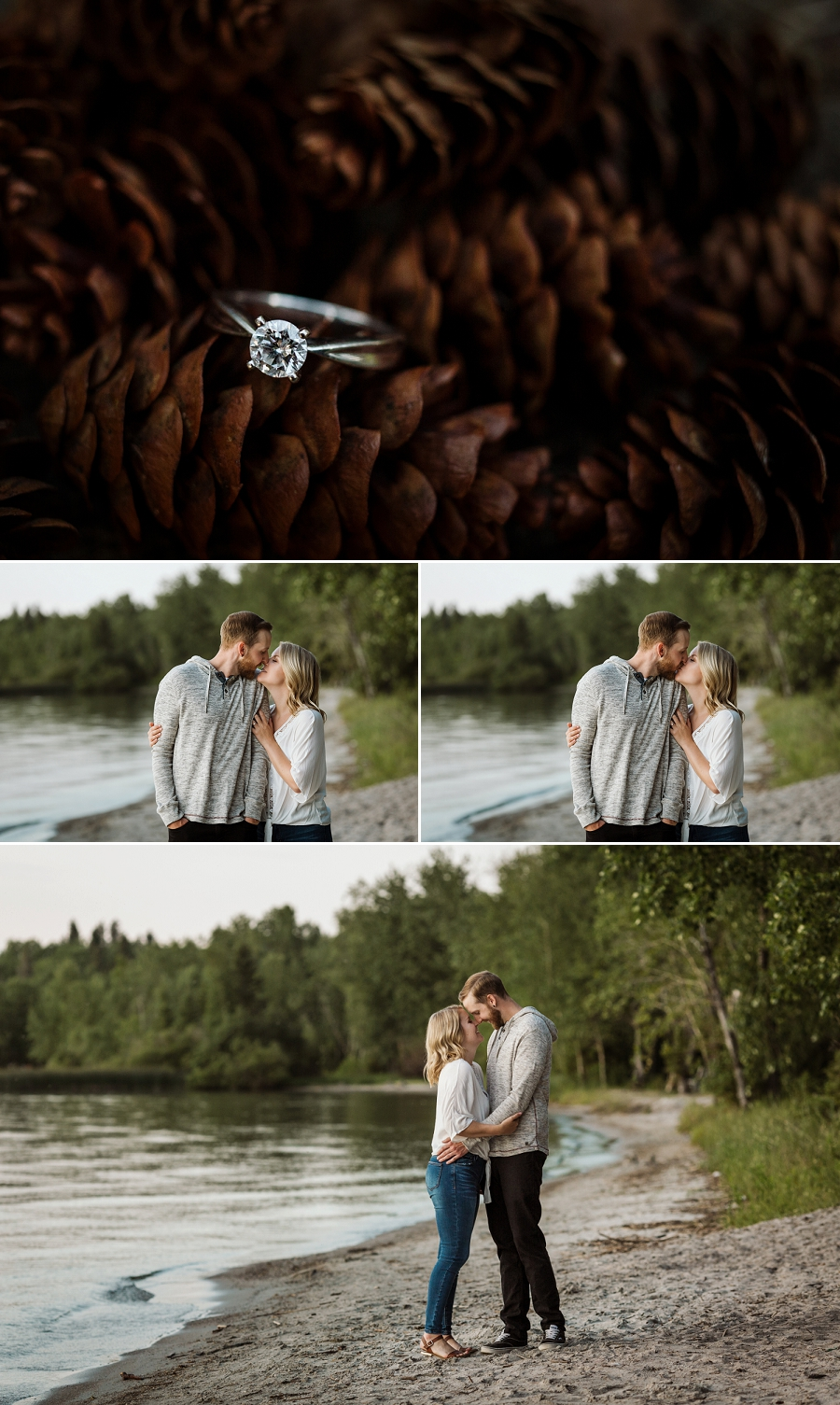 engagement photography in candle lake saskatchewan