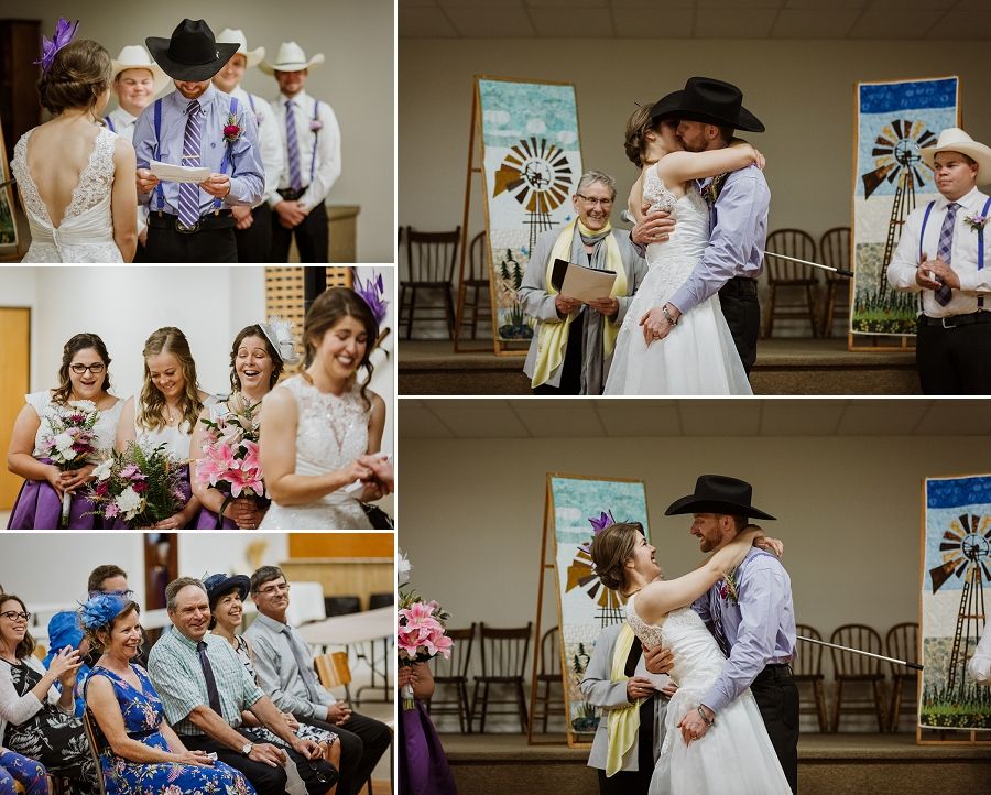 wedding ceremony in saskatchewan
